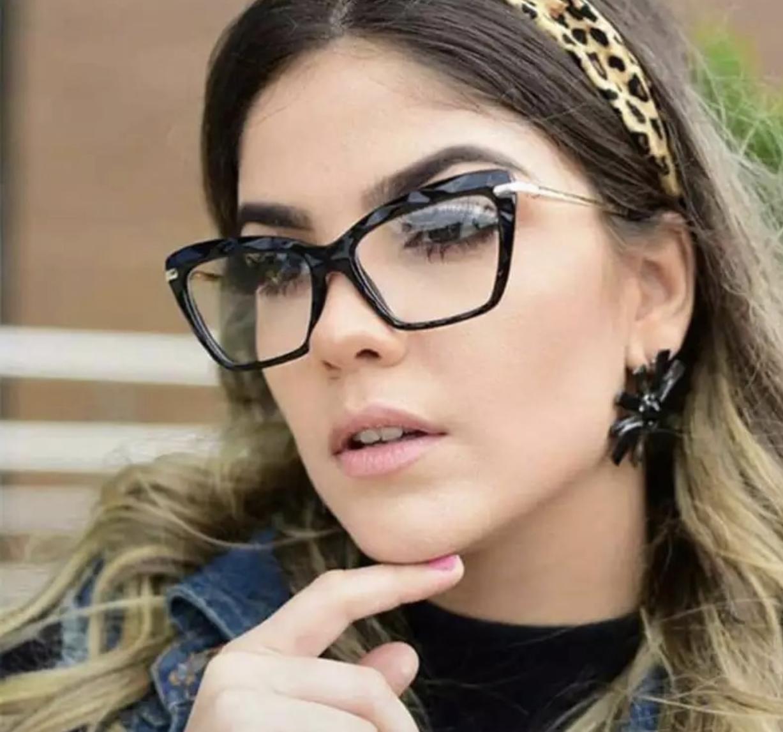 férfi női null dioptriás kocka divat szemüveg dioptria nélküli divatszemüveg